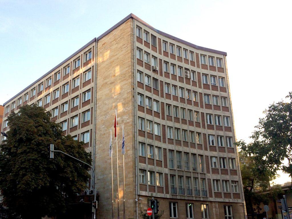 Generaldirektion der türkischen Zuckerfabriken, Architekt: Paul Bonatz, Ankara 1946