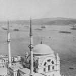 Alliierte Schiffe auf dem Bosporus, zwischen 1919 und 1922 (Library of Congress, loc.gov/item/2010650592)