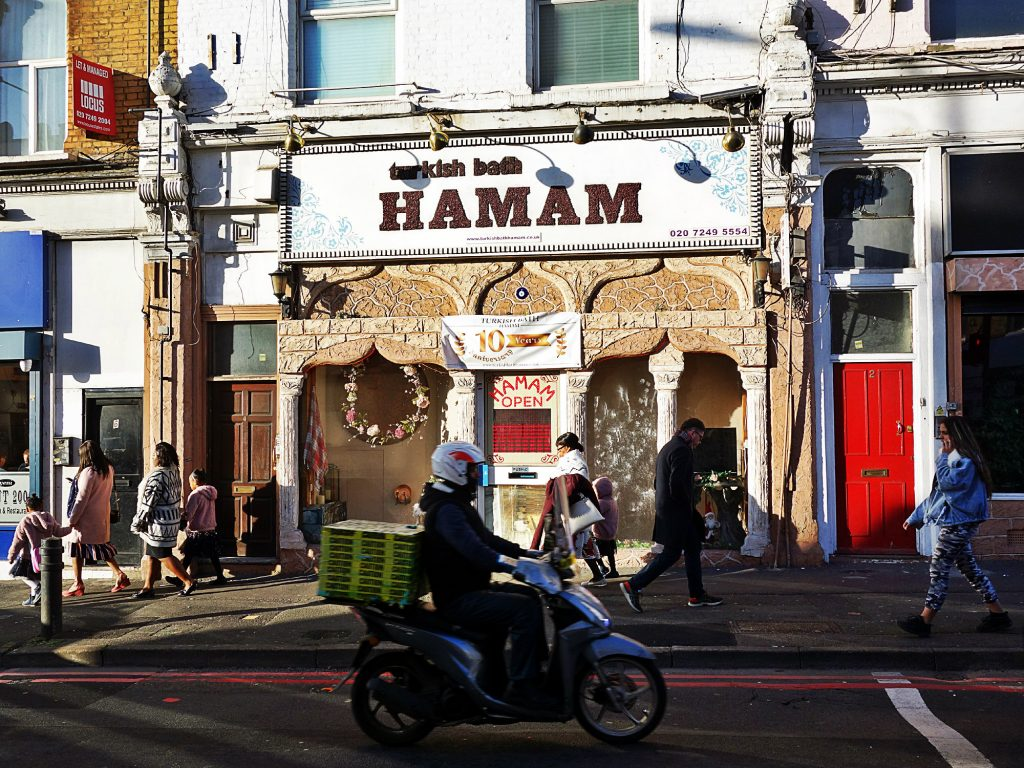 Hamam in Dalston-Kingsland, London 2020