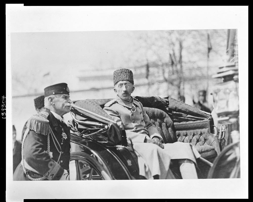Sultans Mehmed VI. Vahideddin, Istanbul 1920 (Library of Congress, loc.gov/item/2010650583)